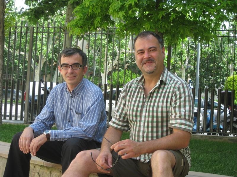 Pere Jorba i David Murgadas