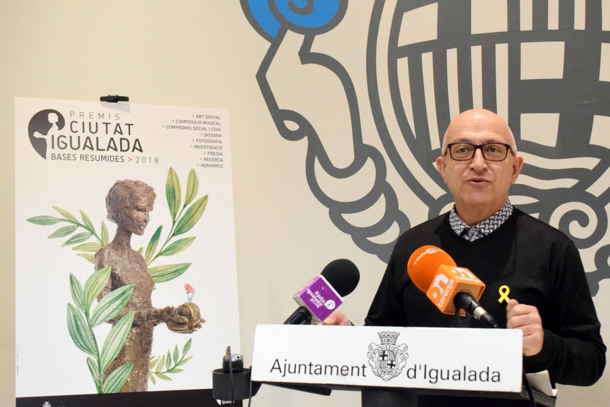 Pere Camps, en la seva intervenció el dimecres davant els mitjans