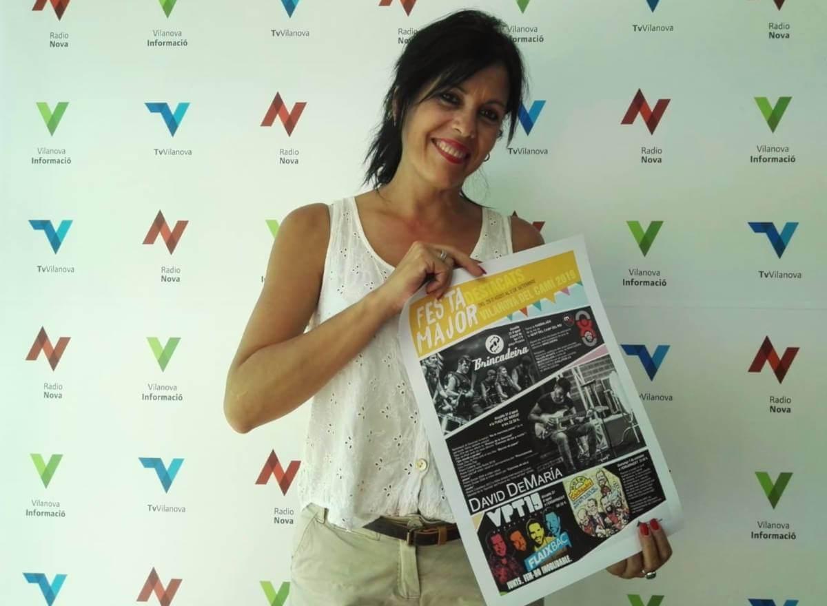 La regidora de Festes, Eva Vadillo