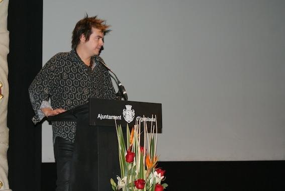 Cristiano Benassi, guanyador del premi d'escultura Josep Campeny