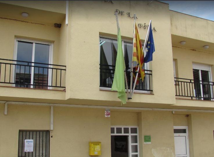 La façana de l'Ajuntament FOTO: E. González