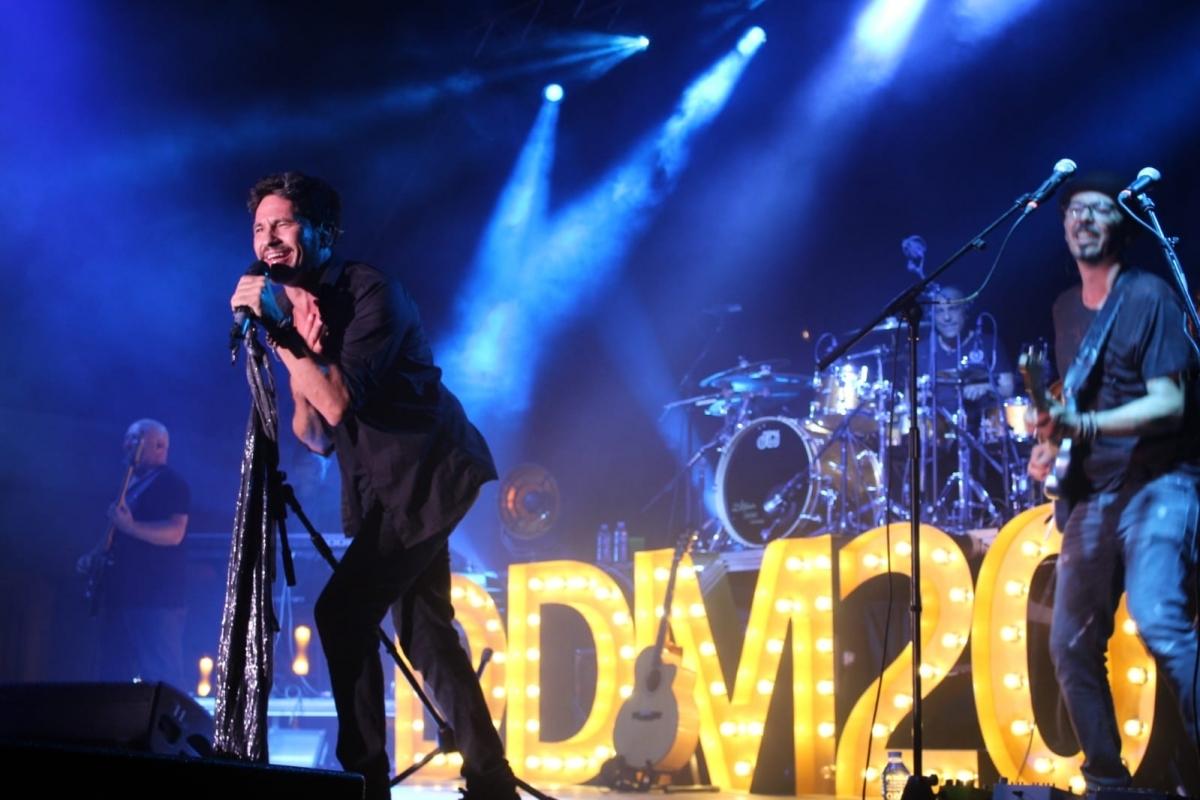 El cantautor David Demaría, protagonista del concert de dissabte passat