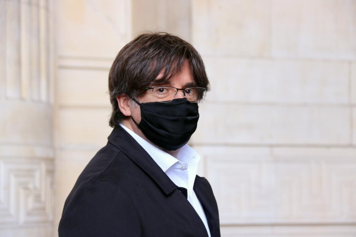 Puigdemont, fa una setmana, a Brussel·les FOTO: ACN