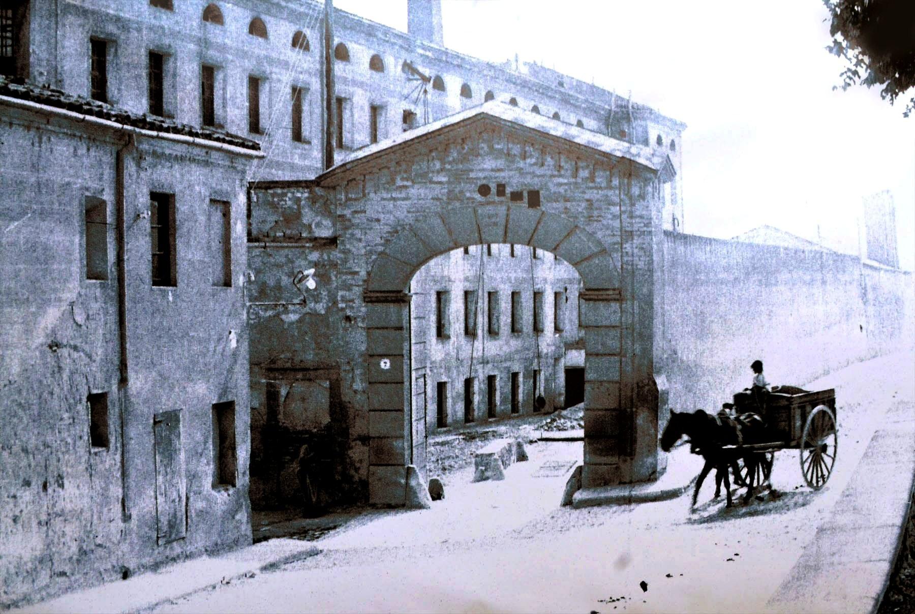 Vista de la fàbrica al segle XIX