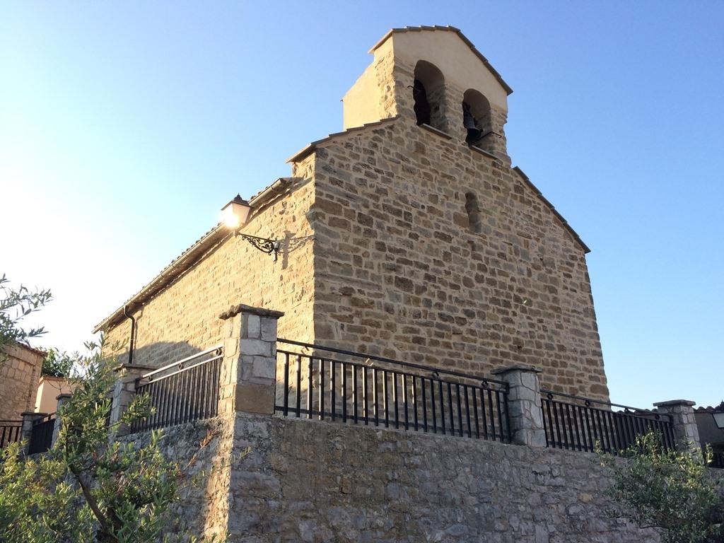 La nova cara de l'església de Calonge de Segarra