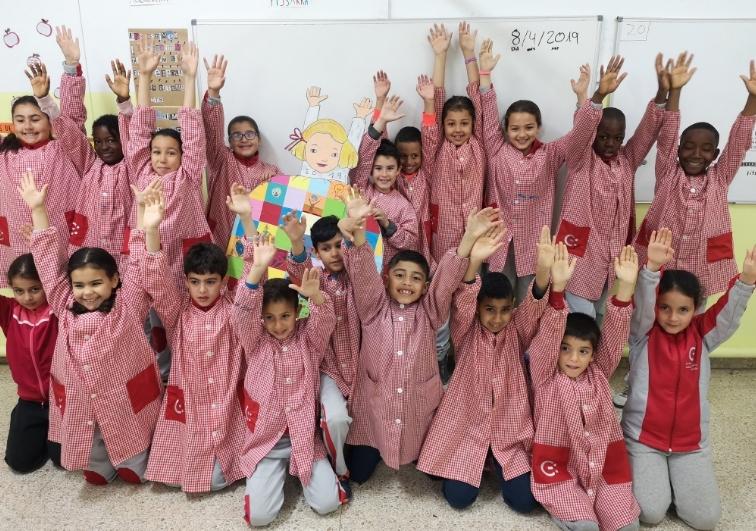 Alumnes del Gabriel Castellà, una de les escoles públiques