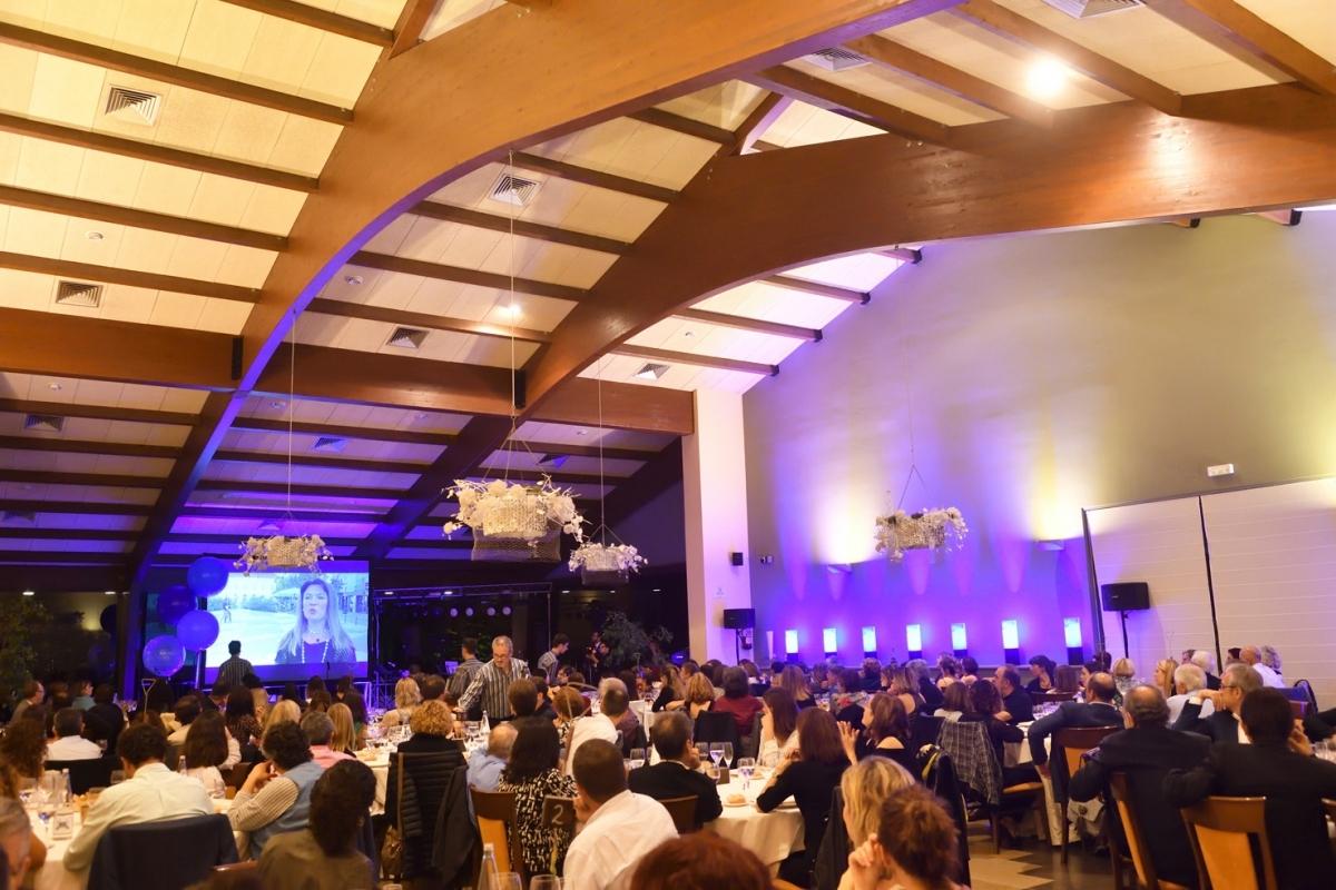 La sala de Mas dels Vivencs, la nit de divendres