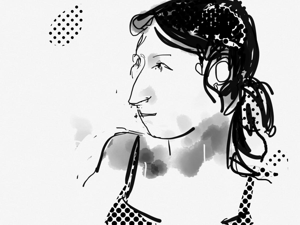 Retrat de María josé Lizarte, de Xavier Gabriel
