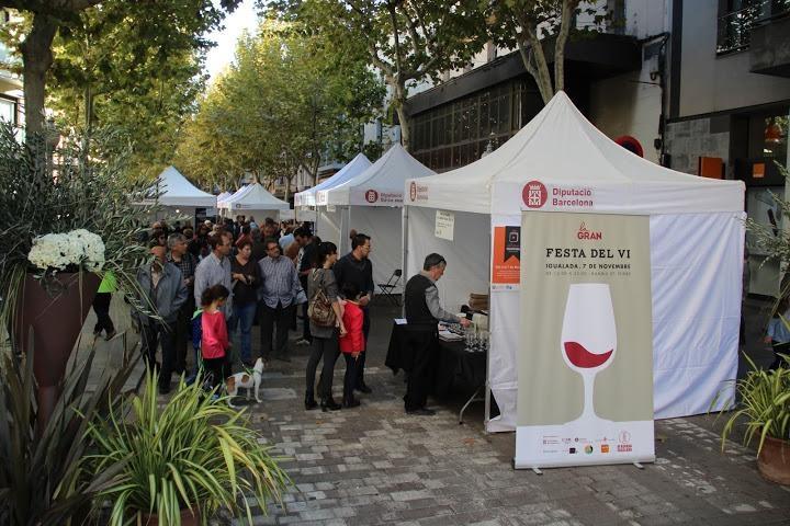 La Gran Festa del Vi, una de les activitats d'Igualada Comerç