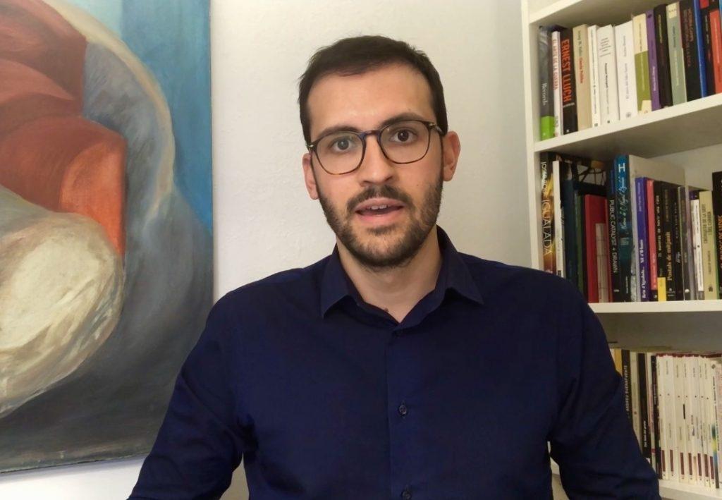 El portaveu d'Igualada Som-hi, Jordi Cuadras