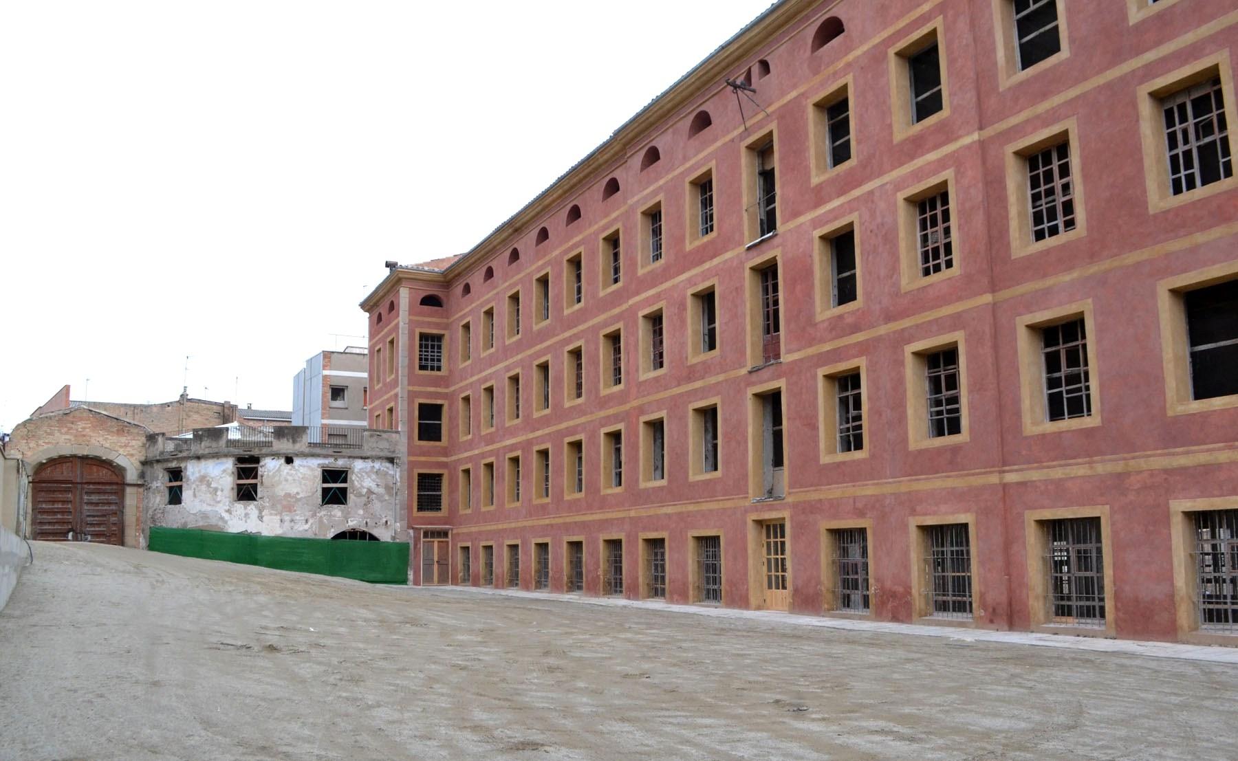 Façana actual de La Cotonera