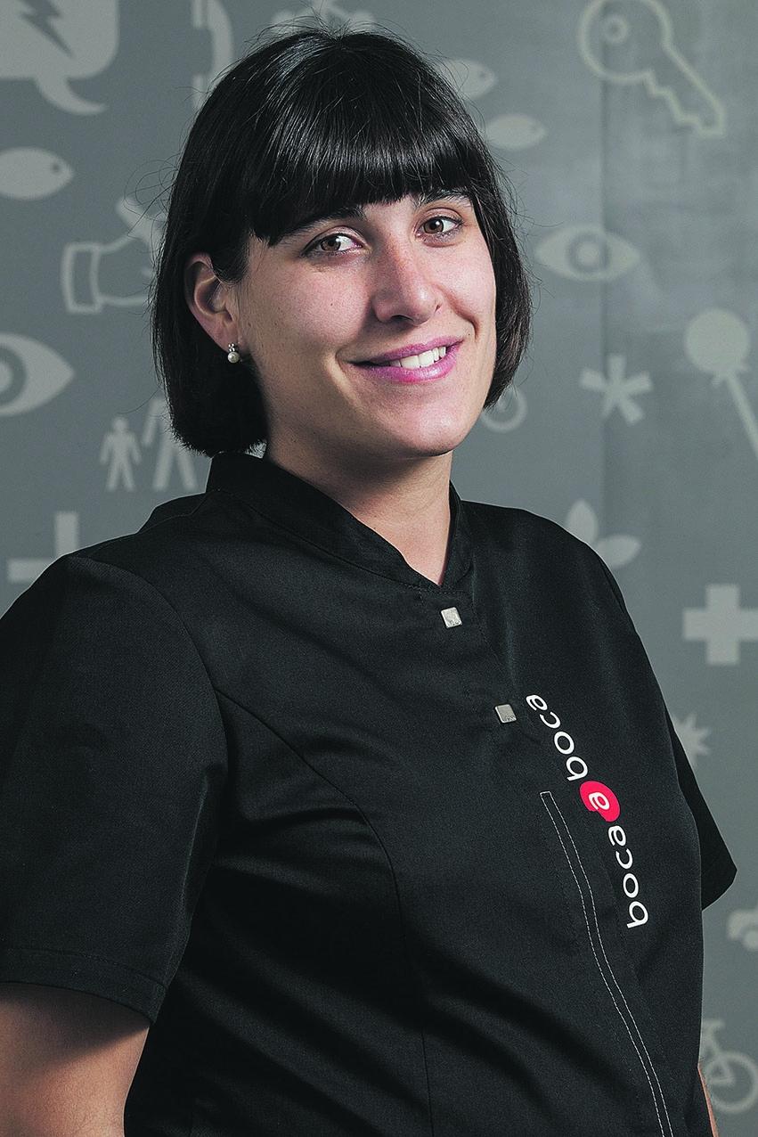 La Carlota Bausili és l'ortodoncista de la clínica Boca a boca