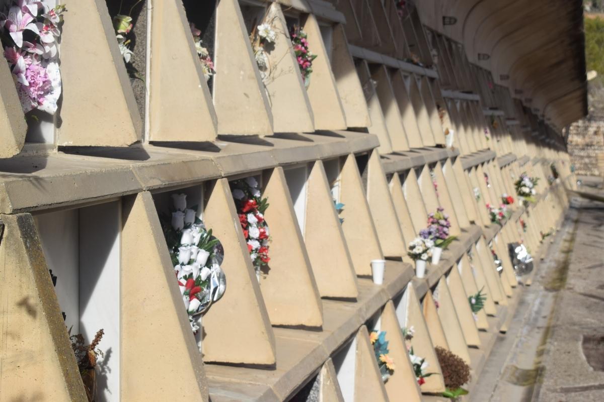 El Cementiri Nou, on hi va haver els desperfectes