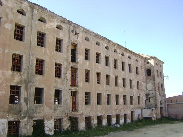 Estat actual de l'edifici fabril