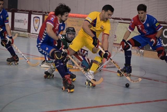 El darrer partit jugat a les Comes, contra el Barça FOTO: X. Garcia