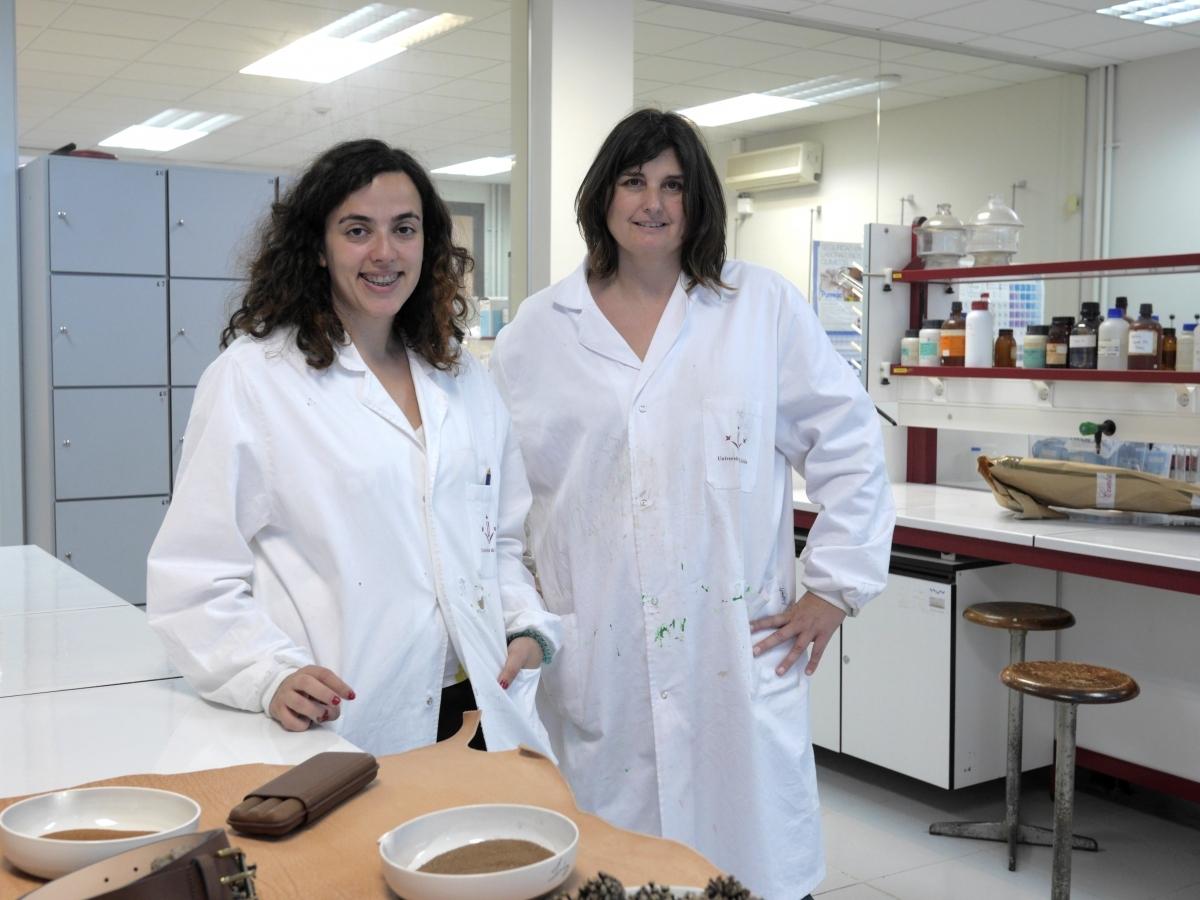 Mireia Conde i Anna Bacardit, investigadores del Campus