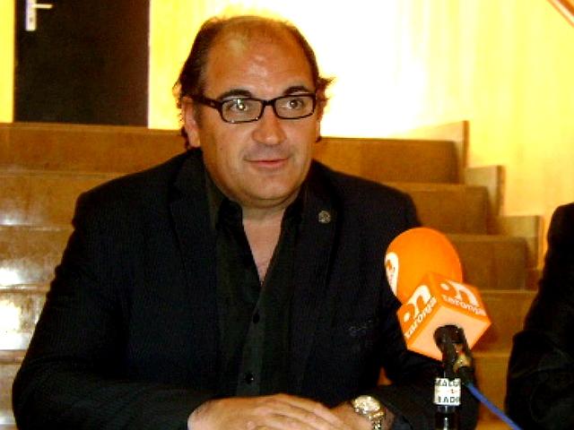 Francesc Jorba, en la seva època de regidor de l'Ajuntament d'Òdena