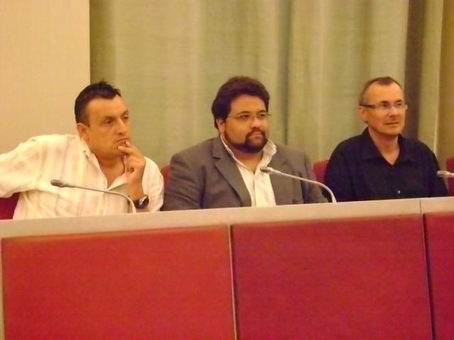 Els membres d'ERC a l'ajuntament