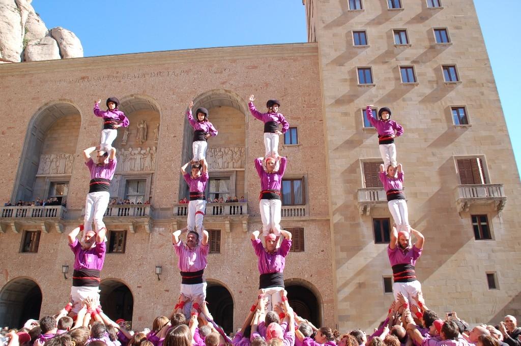 Els Moixiganguers a Montserrat