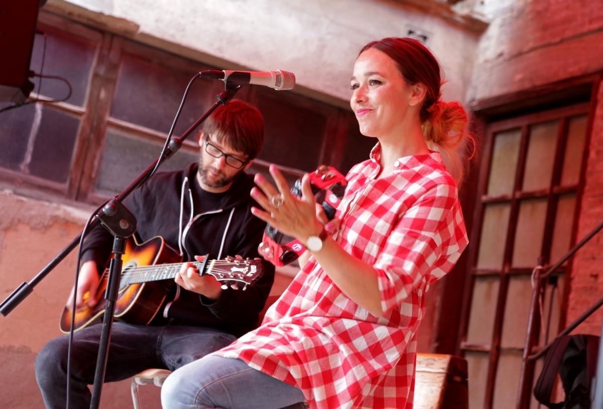 Una de les actuacions musicals del Rec.015
