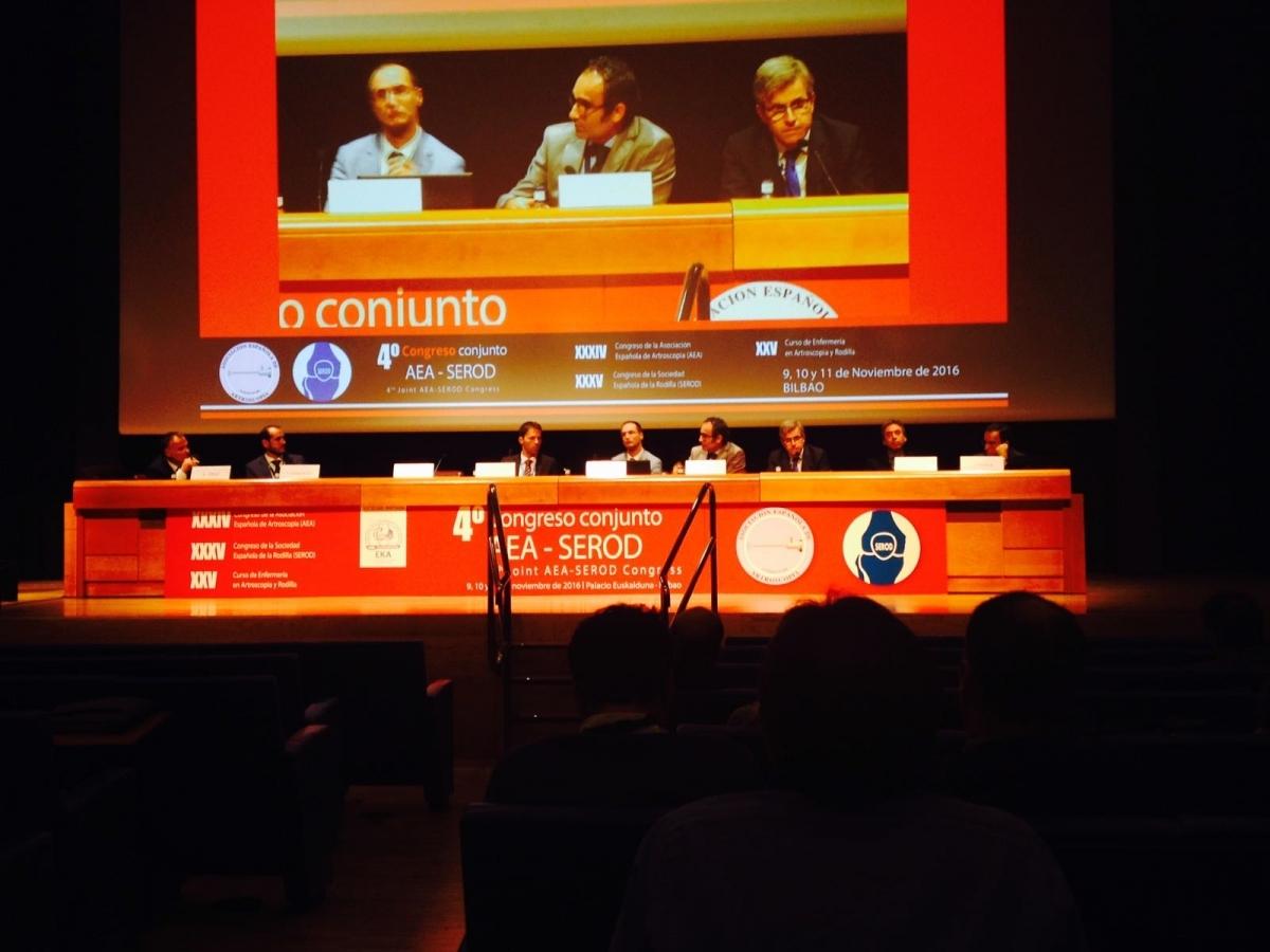Els professionals de l'Hospital van ser al Congrés de Bilbao sobre Cirurgia Ortopèdica