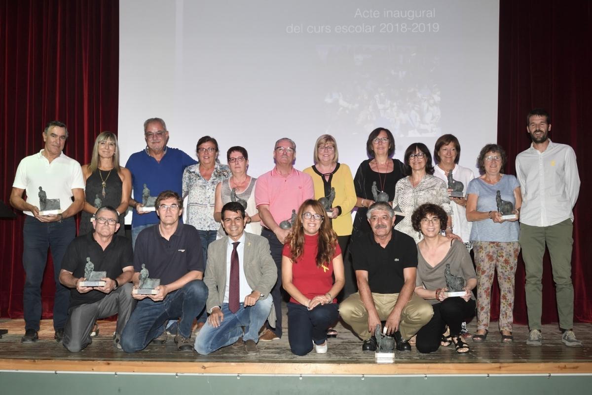 Una fotografia de família a la Sala Andrés Calvo