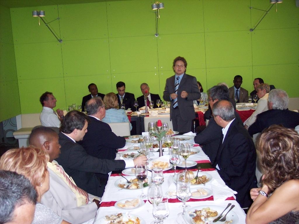 La delegació anoienca a Guimaraes