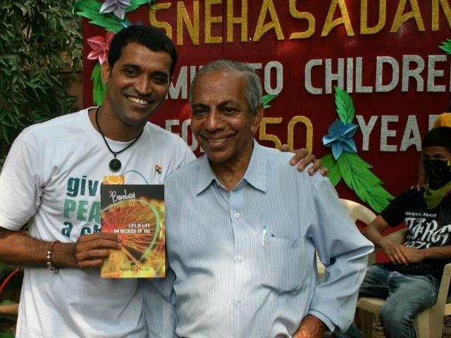 L'autor del llibre, Amin Sheikh