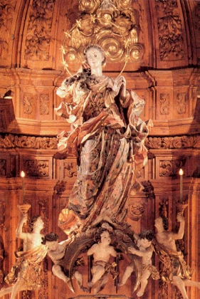 La Immaculada de l'altar major