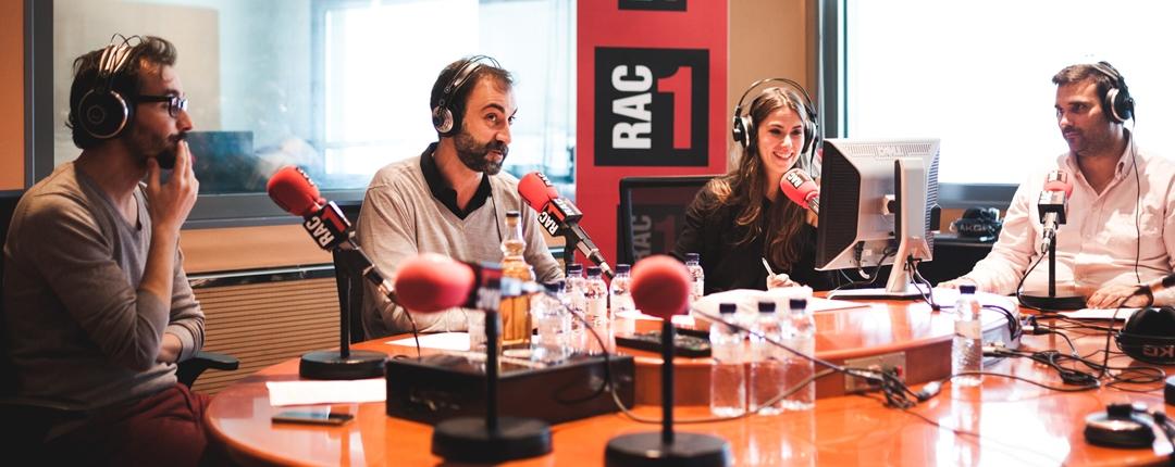 En Jair Dominguez, el Quim Morales, la Candela Figueras i el Xavier Pérez Esquerdo, a l'estudi de RAC1