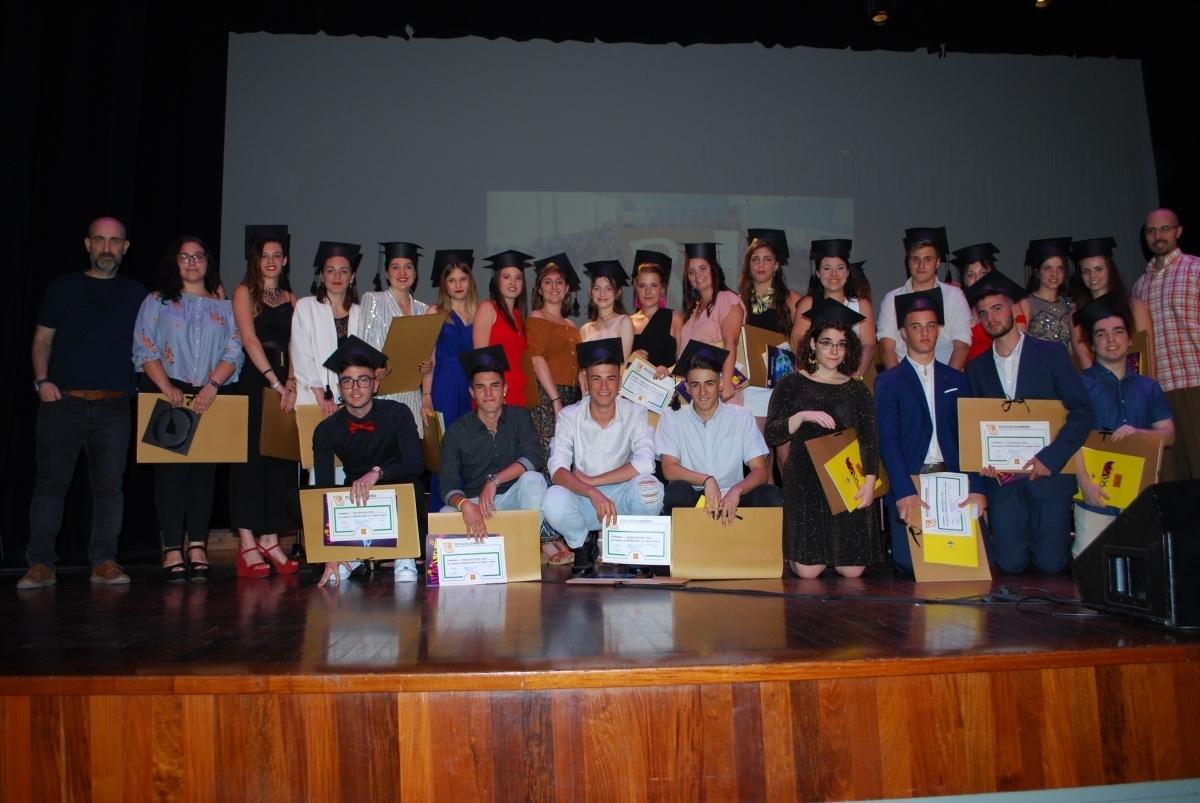 La graduació d'un grup d'alumnes de l'INS Pla de les Moreres