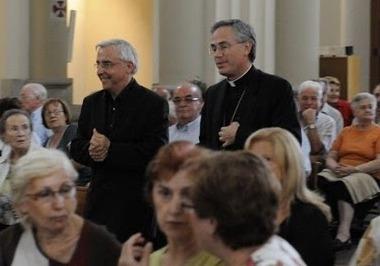 Mn. Josep Maria Mas i el bisbe, Romà Casanova
