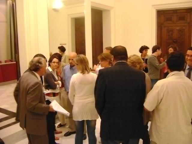 El recés durant el qual els grups han estudiat la moció d'ERC