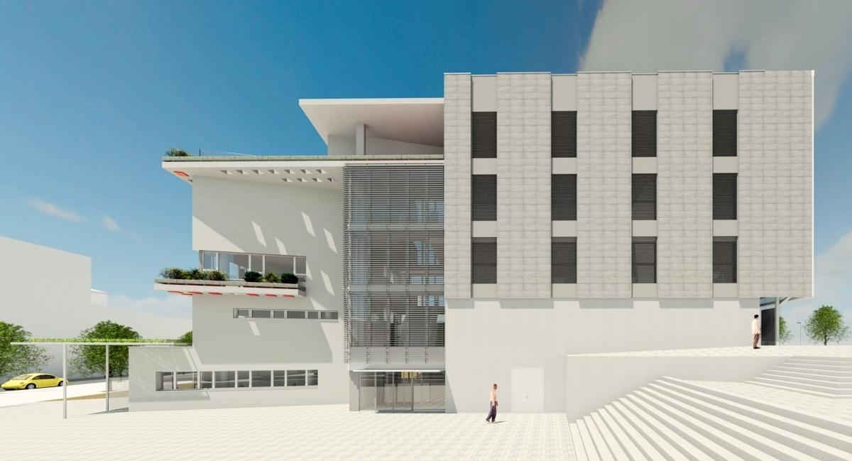 La imatge virtual d'aquest nou edifici
