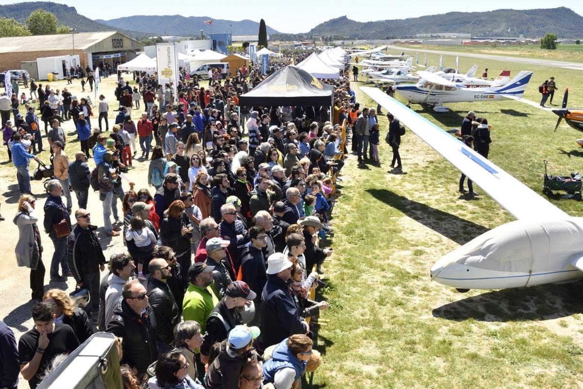 La darrera edició va portar milers de persones a l'Aeròdrom