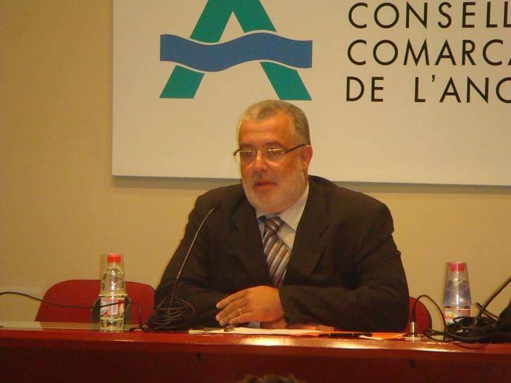 Xavier Boquete és el nou president del Consell Comarcal