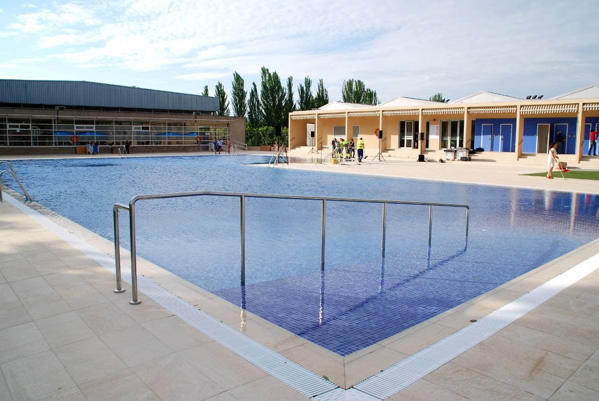 La piscina, estrenada tot just fa set dies