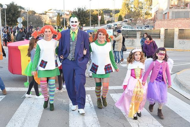 El Carnaval d'Òdena, amb bona participació