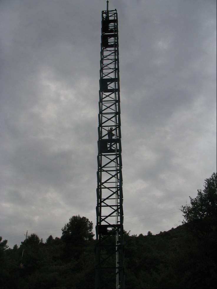 La nova torre de Copons