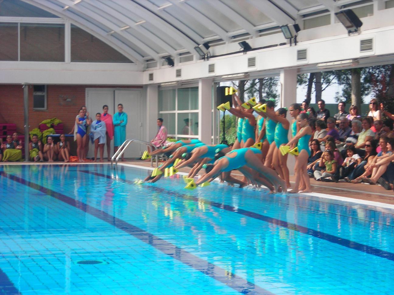 la selecci espanyola de nataci sincronitzada visita la