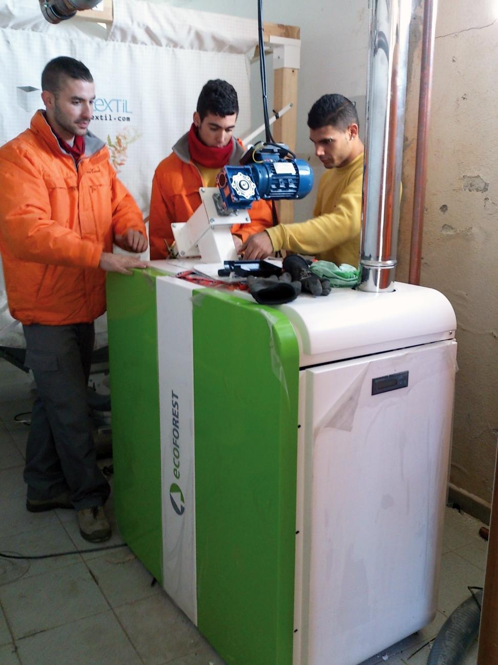 Les calderes de biomassa, un dels ganxos de la Fira