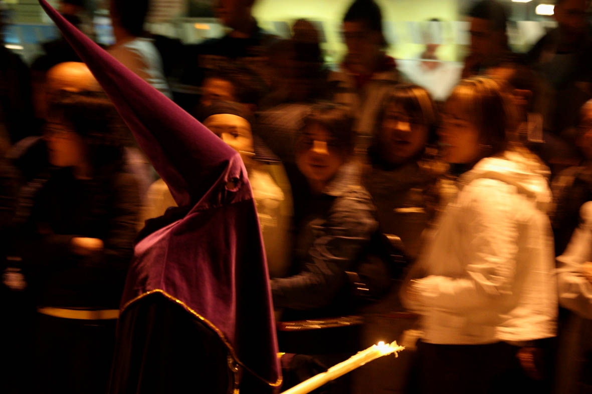 Processó de Setmana Santa a Fàtima. Arxiu: Santi Carbonell