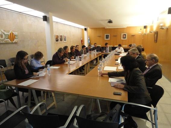 1a reunió dels membres de la Taula Estratègica