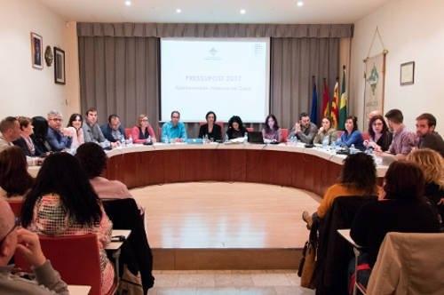 El ple vilanoví del mes de març, en el que l'Ajuntament va anunciar la municipalització