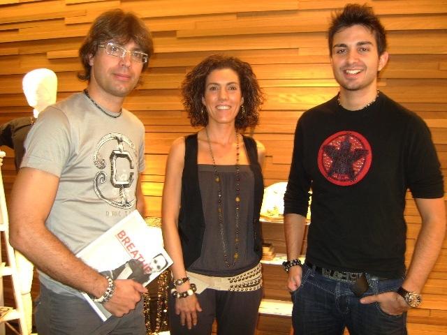 Pere Rosich, Miriam Tort i Jordi Rosich