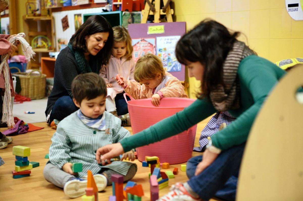 La llar d'infants de l'Ateneu FOTO: Ateneu