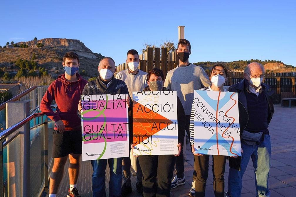 Grup d'Autogestors d'Àuria Fundació (Foto: Marc Vila)