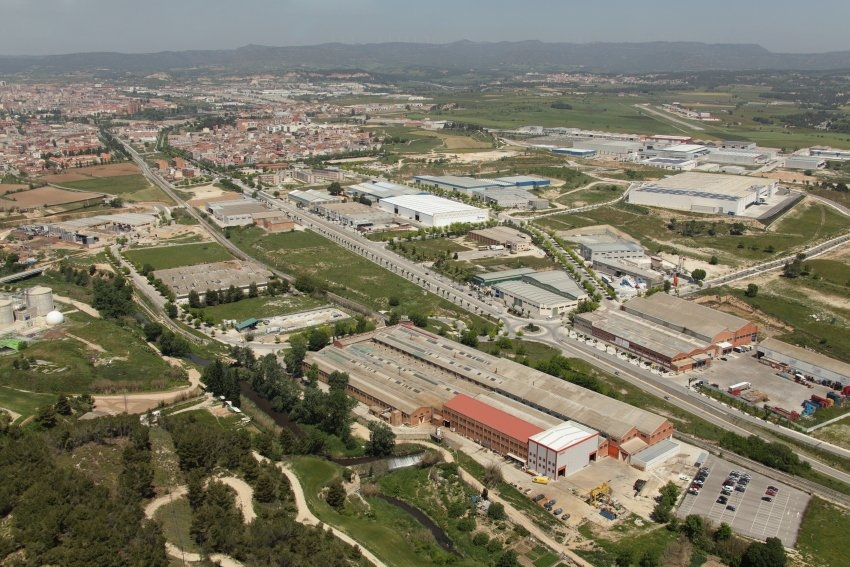 El polígon Pla de Rigat, a Vilanova