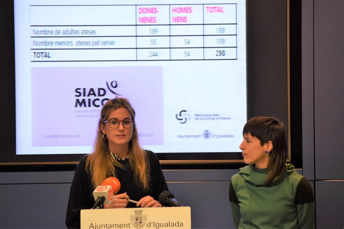 Carner, en la presentació de les dades del SIAD