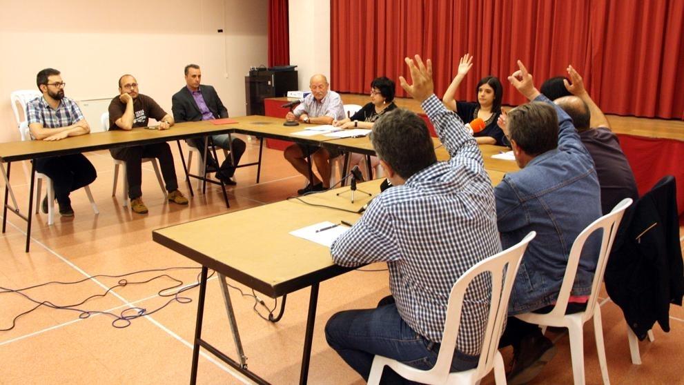 Un dels plens municipals d'aquest mandat a Vallbona